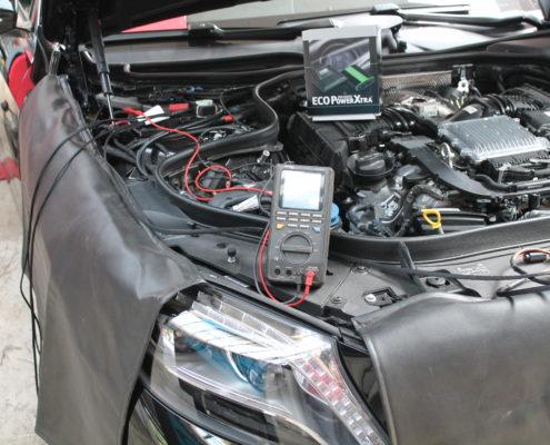 Bild mit elektrischer Fehlersuche am Mercedes W222 und Nachrüstung einer Leistungssteigerung | AUTOSCHMIEDE ®