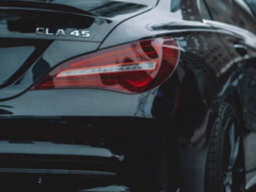 Mercedes Benz Heck Ansicht